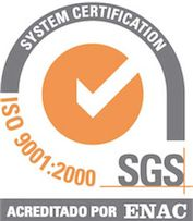 Certificado Calidad Piscinas Prefabricadas logo ISO 9001